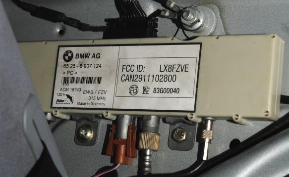 E46 Wtb Antenna Amplifier Fzv From C Pillar Maxbimmer Forums