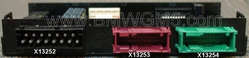 BMW GM5 Wiring - Connections   Bmw Gm5 Wiring Diagram      BMW General Module 5