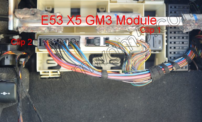 Bmw General Module 3 Removal E39 5 Series